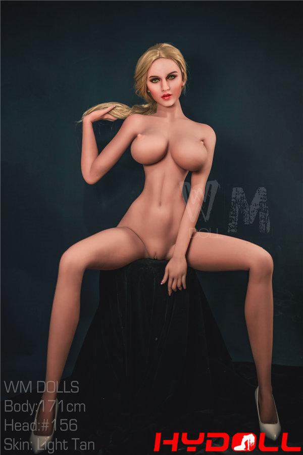 Blonde female doll