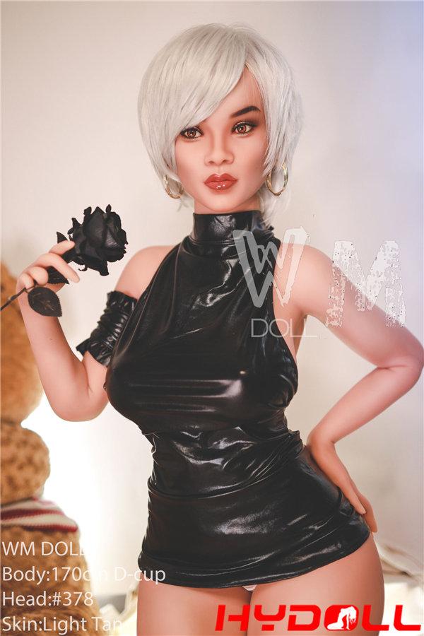 White Hair Sex Doll