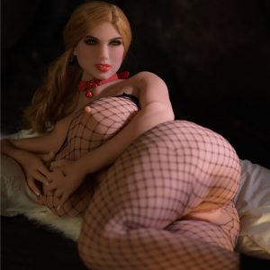Blonde huge tits sex doll