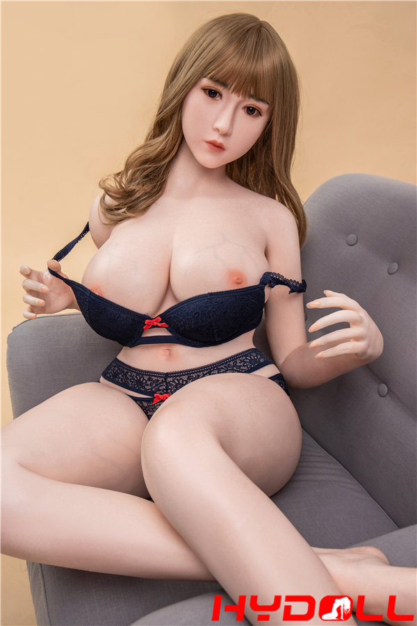 Sex doll and sofa